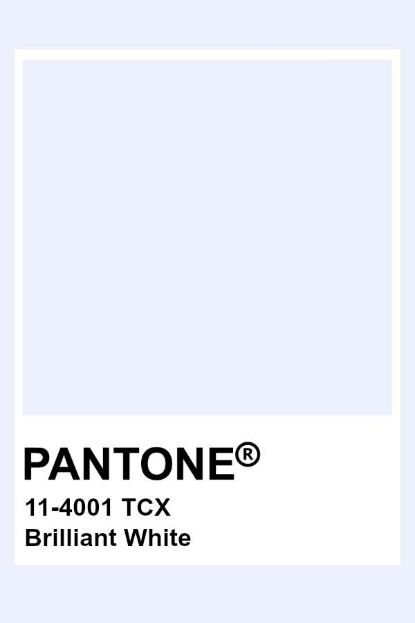 Brilliant White Pantone