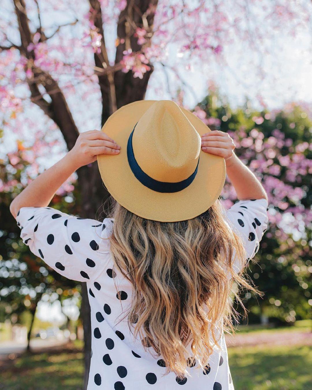 Faça penteados para usar com chapéu