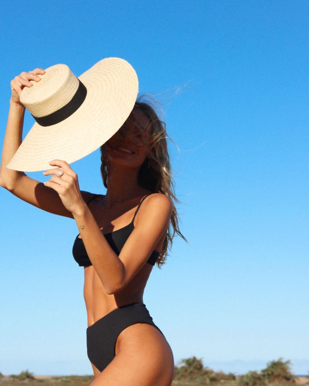 foto com chapéu