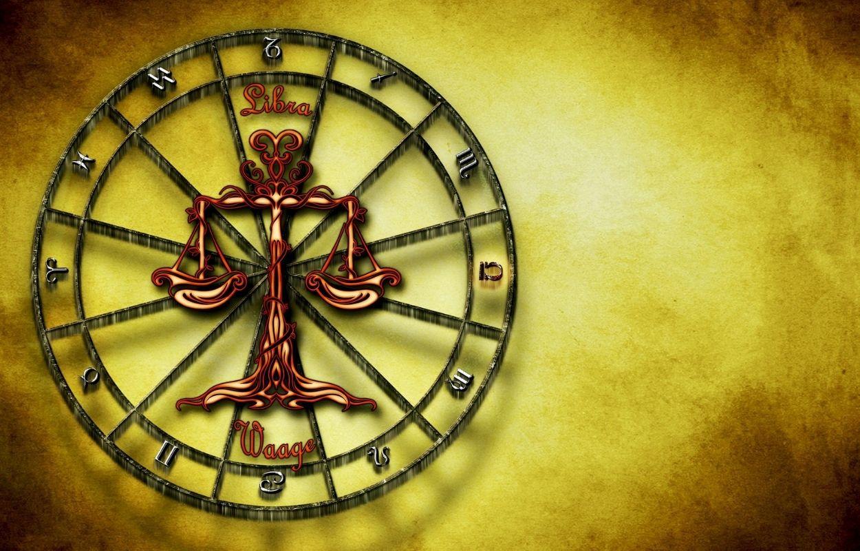 Imagem mostra símbolo do signo de libra