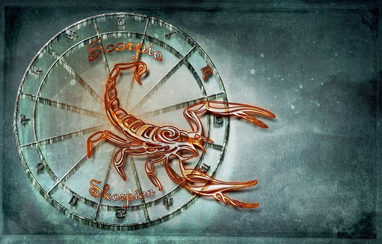 Imagem mostra signo de escorpião