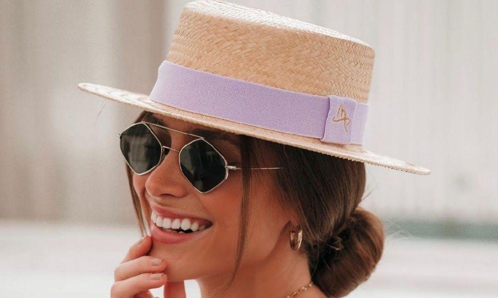 Imagem mostra chapéu paris - look festa junina