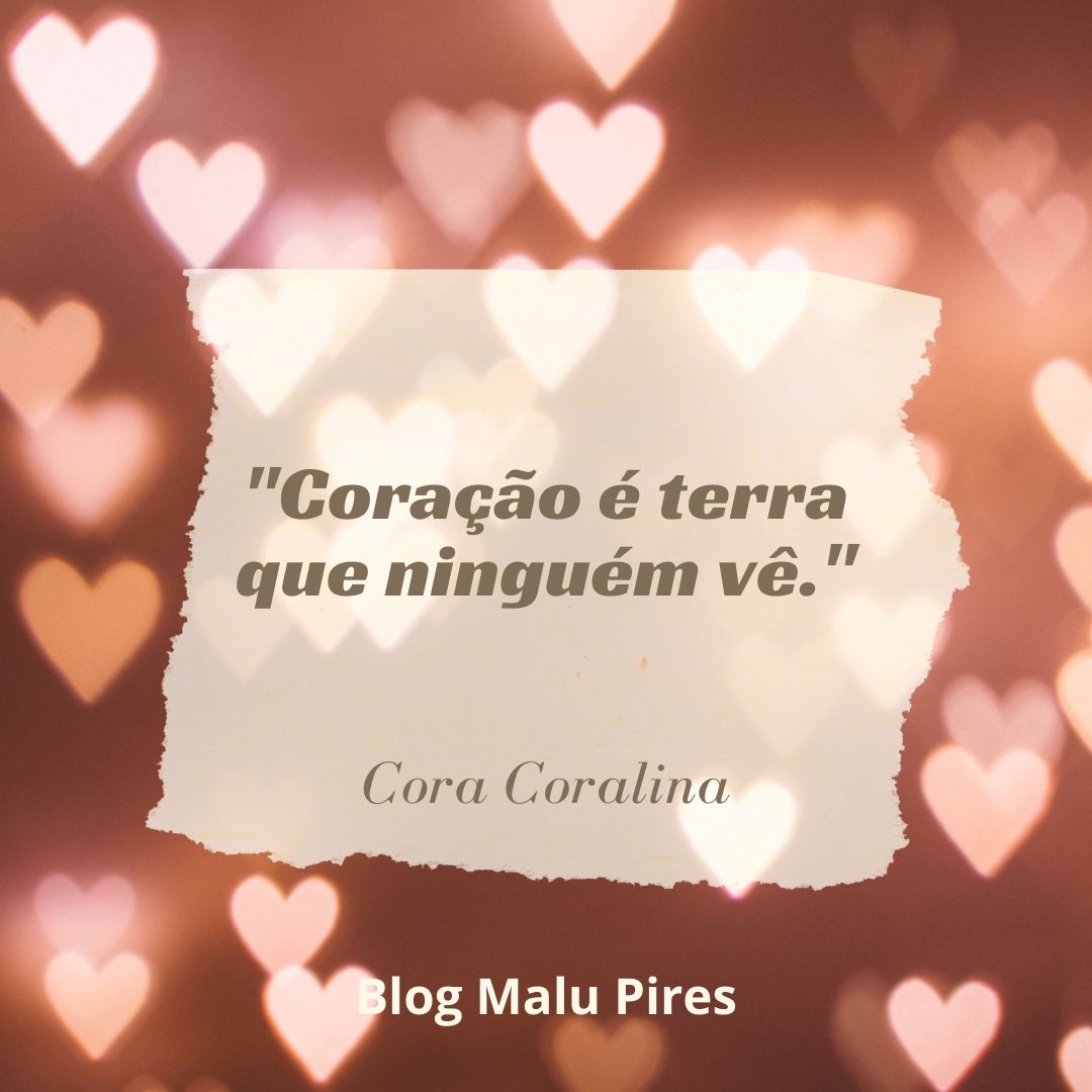 Imagem mostra Cora Coralina frases
